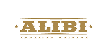 Alibi Whiskey Logo