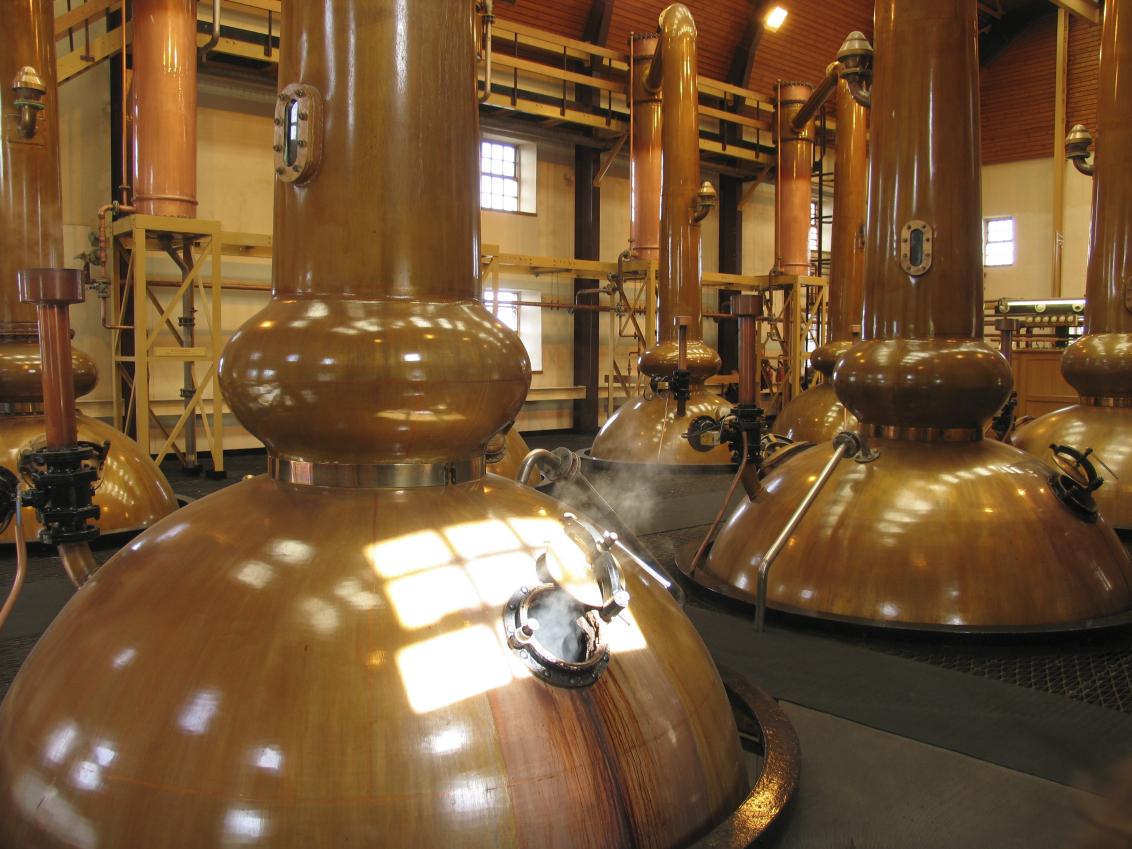 Gin Distillery Room