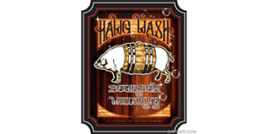 Hawg Wash Bourbon logo