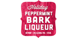 Holiday Peppermint Bark Liqueur logo