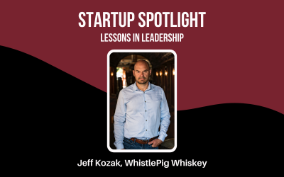 Startup Spotlight: Jeff Kozak, CEO of WhistlePig Whiskey