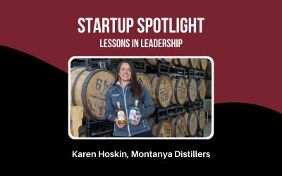 Startup Spotlight: Karen Hoskin, Founder of Montanya Distillers