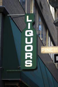 Liquor Store Sign
