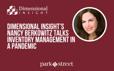 Dimensional Insight's Nancy Berkowitz Talks Inventory Management in a Pandemic