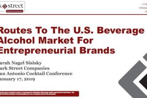 Routes to the U.S. Beverage Alcohol Market for Entrepreneurial Brands (2019)