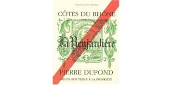 La Renjardiere Cotes du Rhone Red logo.jpg