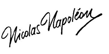 Nicolas Napoleon WINE LOGO