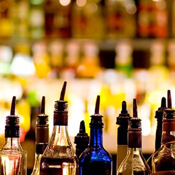 Spirits-bottles-shelf