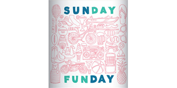 Sunday Funday wine logo